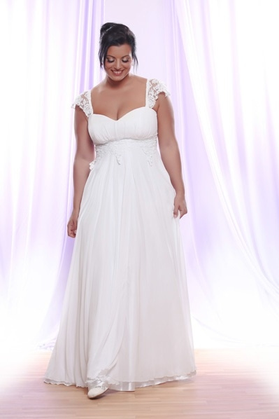 Darius Cordell - Plus Size Wedding Gowns with Sleeves by...