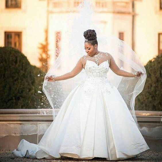 Princess plus size wedding gowns from Darius Couture