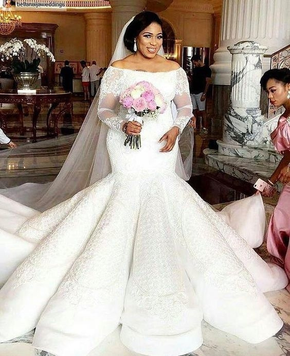 haute couture plus size lace wedding gowns from Darius Bridal