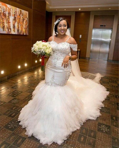 Beaded lace plus size wedding gowns from Darius Bridal...