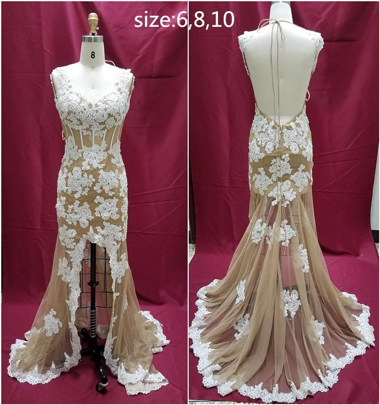 Elegant Lace Evening Dresses for prom or pageant by Darius Cordell
