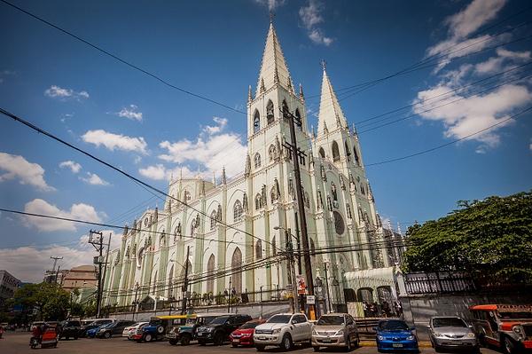 San Sebastian Church by alienscream