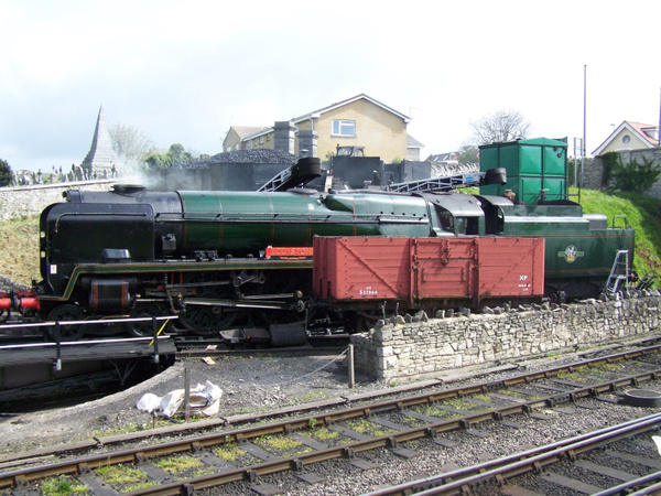 34028 Swanage 12-05-13 by AlvinKnight