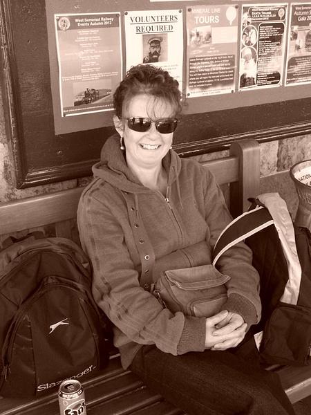 Joanna at Washford enjoying the sunshine 06-10-12 by...