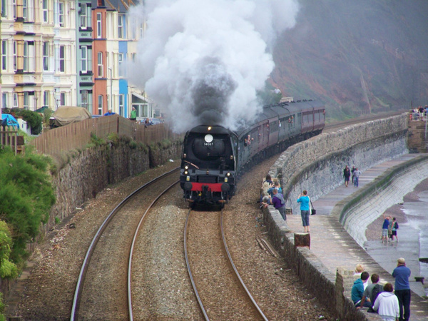 34067 Dawlish 02-09-12 (2) by AlvinKnight