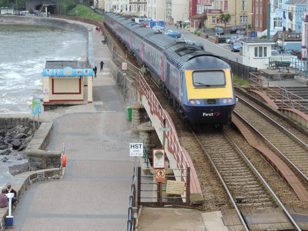 43010 Dawlish 22-06-13 by AlvinKnight