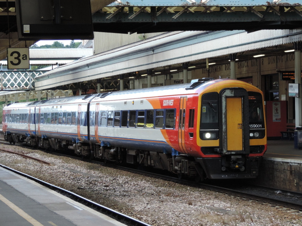159001 Exeter St Davids 24-06-13 by AlvinKnight