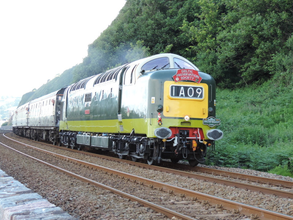 55019 Teignmouth 29-06-13 by AlvinKnight