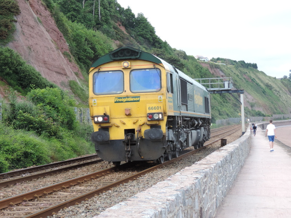 66601 Teignmouth 29-06-13 by AlvinKnight