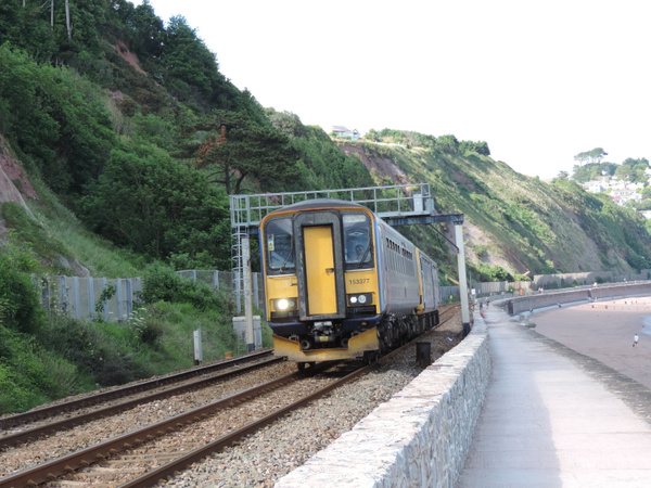 153377 Teignmouth 29-06-13 by AlvinKnight