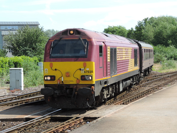 67020 Exeter Saint Davids 30-06-13 (2) by AlvinKnight