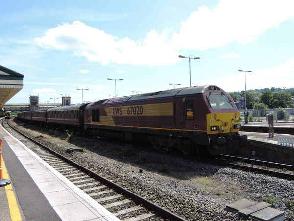 67020 Exeter Saint Davids 30-06-13 (3) by AlvinKnight
