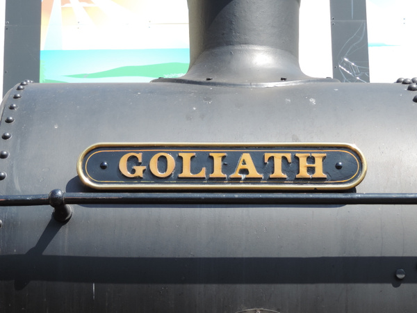 5239 Nameplate  Paignton 14-07-13 by AlvinKnight