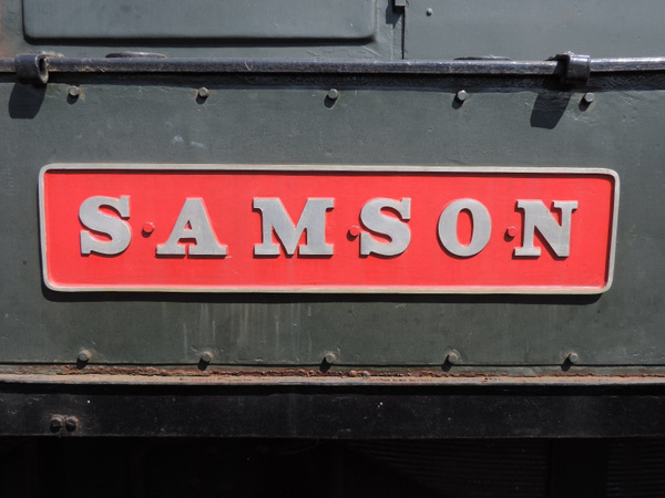 D3014 Nameplate  Paignton 14-07-13 by AlvinKnight