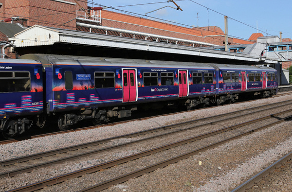 Class 321 EMU by AlanHC22