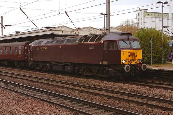 Class 57 West Coast by AlanHC22