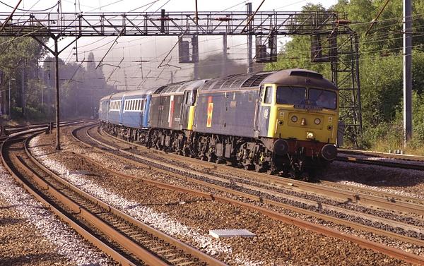 Class 47 by AlanHC22