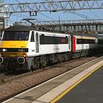 Class 90 Anglia Mainline
