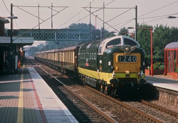 Class 55 Deltic Post BR era by AlanHC22