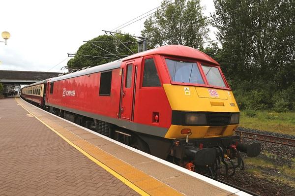 Class 90 DB Schenker by AlanHC22