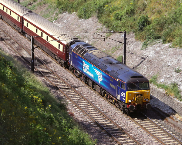 Class 57 DRS by AlanHC22