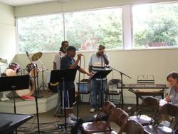 Worship and Praise Band at Grace Mission