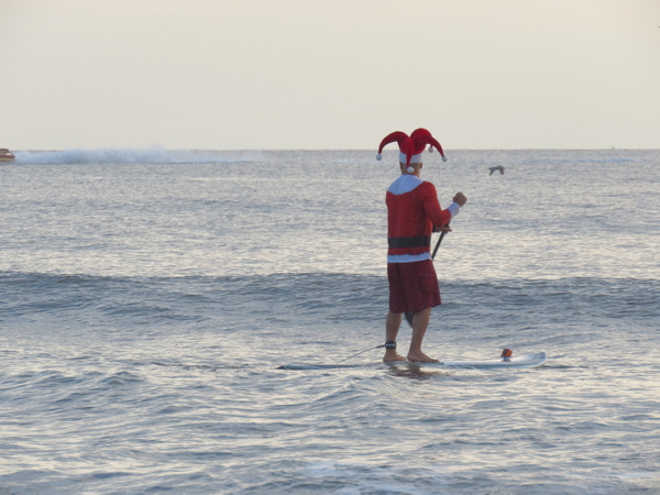 Surfing Santas 2017 Cocoa Beach by CherylsShots by...