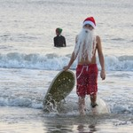 Surfing Santas 2017 Cocoa Beach