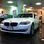 Irvine BMW F10 in Showroom