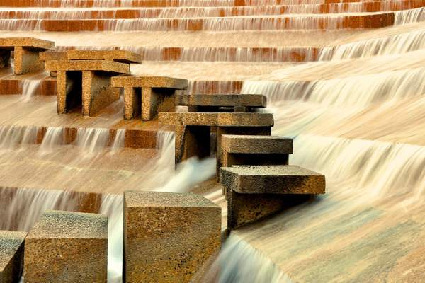 Fort Worth Water Gardens, f-14, 1-5s