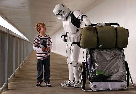Man-Dressed-As-Stormtrooper-is-Walking-Across-1