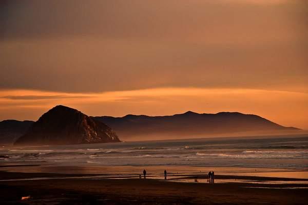 Sunset at Moro Rock