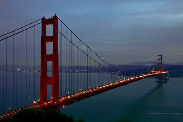 Golden Gate a Twilight