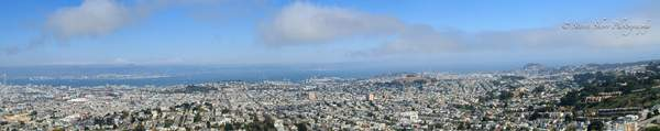View From Twin Peaks Pano