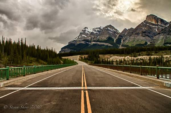 On The Road Canada 93_The_Icefields_Parkway