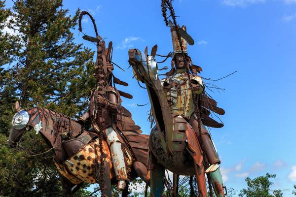 Guarding the Blackfeet Indian Reservation