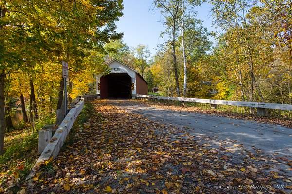 Covered Bridge VT NY Border-1