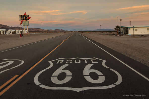Route 66 Revisited 2014 by Steven Shorr