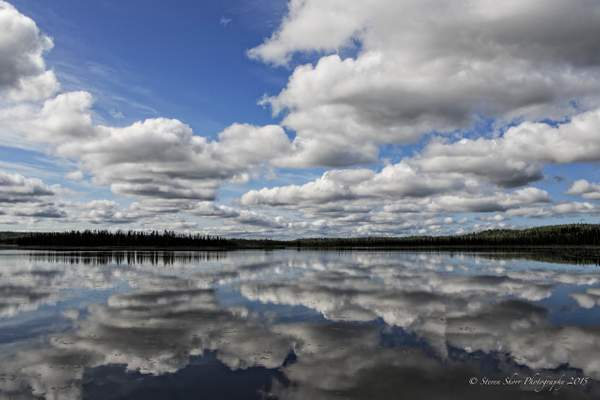 Reflecting on the Passing Clouds