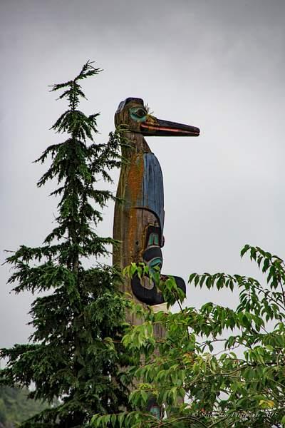 Totem in Ketchikan, Alaska