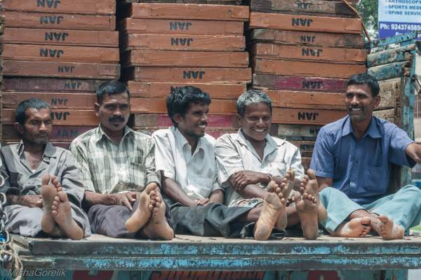 India - day workers