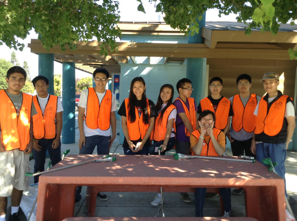 Almaden Lake Clean Up 9/7 by Ihskey2014