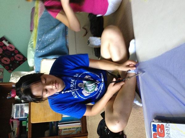 FRN Tutu Making 10/16/13 by Ihskey2014