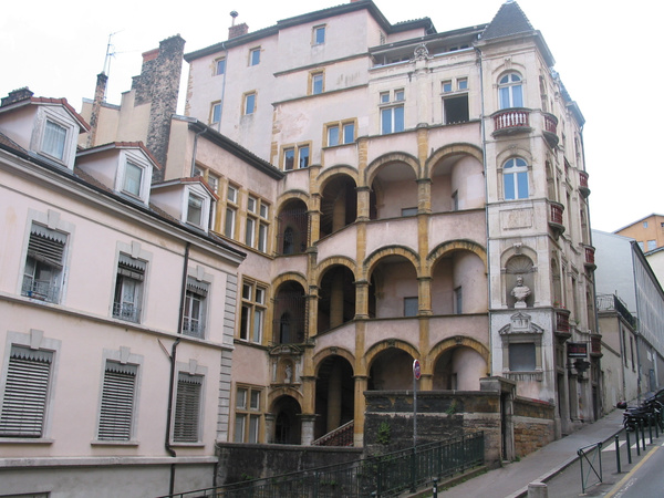 renaissance apartment building by Kathyemery