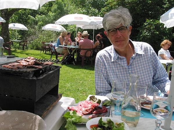 lunch at La Chevrette 3 by Kathyemery