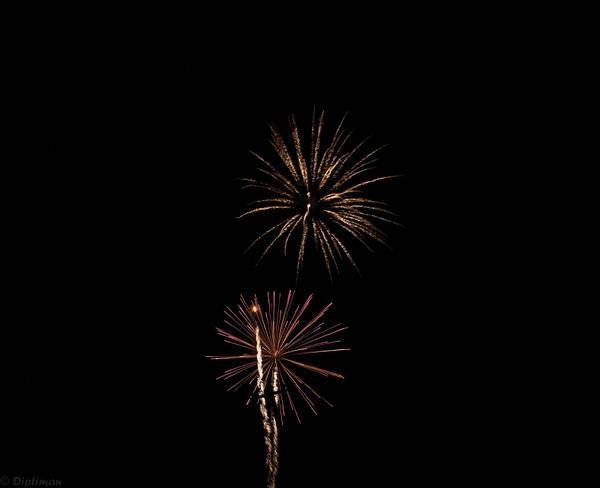 Fireworks by DIPTIMAN BASAK