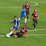 Peterborough United 1 v 0 QPR (13-07-2013)
