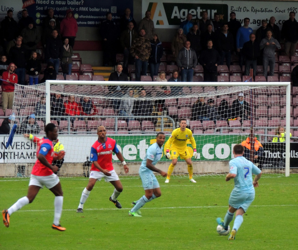 Coventry City 2 v 1 Gillingham (15-09-2013) by toasis1