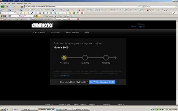 Animoto Processing