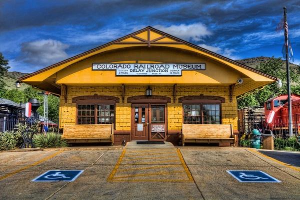 Colorado Railroad Museum by Adrianchynoweth
